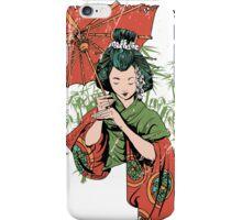 Japan girl iPhone Case/Skin