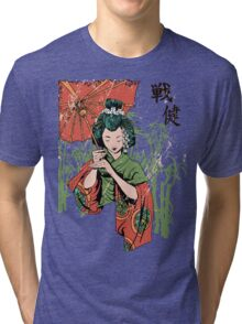 Japan girl Tri-blend T-Shirt