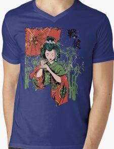 Japan girl Mens V-Neck T-Shirt