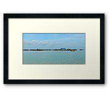 Floating village, Siem Reap Framed Print