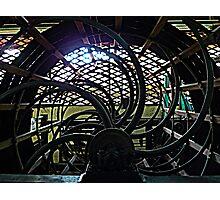 Silk factory, Siem Reap 2 Photographic Print