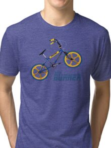 Retro BMX Burner T-shirt Tri-blend T-Shirt