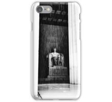 Abraham Lincoln Memorial | Washington DC | Snow iPhone Case/Skin