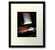 Practice Makes Beautiful Framed Print