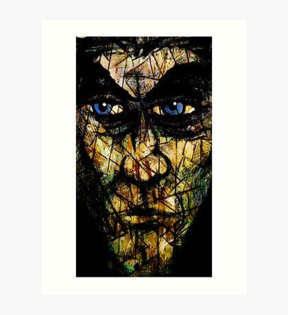 Long Face Art Print