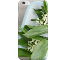 Lilies of the valley iPhone Case/Skin