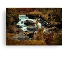 My first blurred water! Canvas Print
