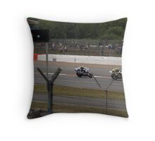 johnny rae leads cal crutchlow Throw Pillow
