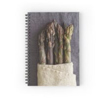 Purple asparagus Spiral Notebook