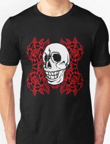 RedRose Skull T-Shirt