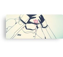 The Tortured Stormtrooper Canvas Print