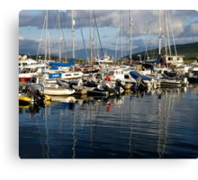 Boats in Dingle Harbour, Co. Kerry, Ireland... Canvas Print