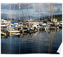 Boats in Dingle Harbour, Co. Kerry, Ireland... Poster