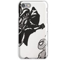 Spiderman vs. Darth Vader iPhone Case/Skin