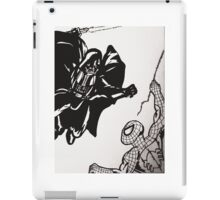 Spiderman vs. Darth Vader iPad Case/Skin
