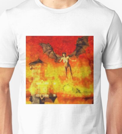 Winged Beast by Sarah Kirk Unisex T-Shirt