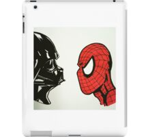 Spiderman vs. Darth Vader 2 iPad Case/Skin