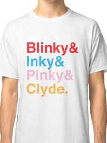 The Original Fab Four - Blinky, Inky, Pinky, Clyde Classic T-Shirt