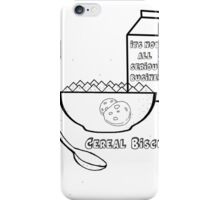 Cereal Biscuits iPhone Case/Skin