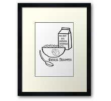 Cereal Biscuits Framed Print