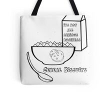 Cereal Biscuits Tote Bag