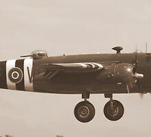Bomber Landing by arad1320