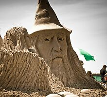 Sand Castle Wizard by Alan Hyland