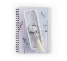 Lavender ice cream Spiral Notebook
