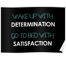 Determination Quote Poster