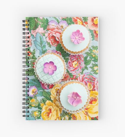 Decorated cupcakes Spiral Notebook
