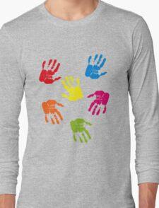 Colourful Hands Long Sleeve T-Shirt