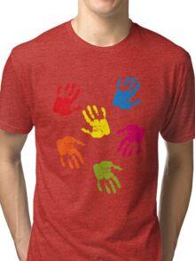 Colourful Hands Tri-blend T-Shirt