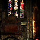 ST. ANDREWS CASTLE SCOTLAND by Angelika  Vogel