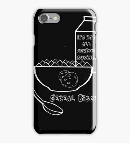 Cereal Biscuits Inverted iPhone Case/Skin