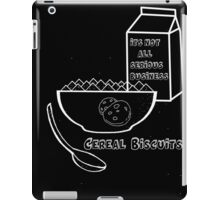 Cereal Biscuits Inverted iPad Case/Skin