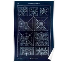 A Handbook Of Ornament With Three Hundred Plates Franz Sales Meyer 1896 0266 Enclosed Ornament Square Panel Inverted Poster