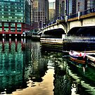 Financial District of Boston by LudaNayvelt