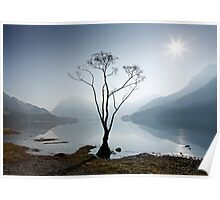 Morning Mist on Buttermere Poster