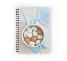 Eggs in a saucepan Spiral Notebook