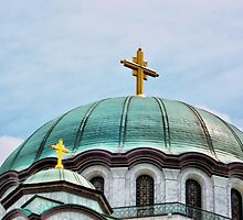 St Sava Temple,Hram Svetog Save 2 by robertpatrick