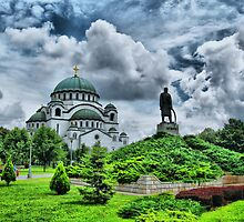 St Sava Temple,Hram Svetog Save 3 by robertpatrick
