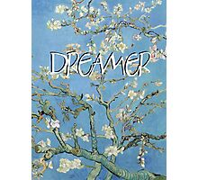 Dreamer text art Photographic Print