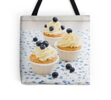 Blueberry cupcakes Tote Bag