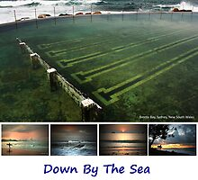 Down By The Sea - 2010 Calendar - Front Cover by Keiran Lusk
