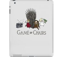 Game Of Chairs iPad Case/Skin