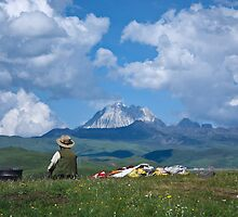 Man and Mountain by StuBees