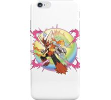 Mega Blaziken - Pokemon iPhone Case/Skin