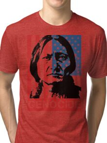 GENOCIDE Tri-blend T-Shirt
