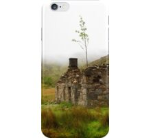 Ruined Bothy on the Drove Road iPhone Case/Skin