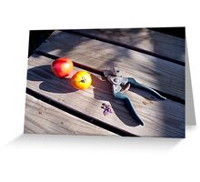 Tomato Harvest Greeting Card